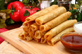 Chicken Taquitos Stock Images
