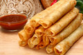 Chicken Taquitos Stock Image