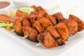 Chicken Tikka Kebab Royalty Free Stock Photo