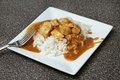 Chicken tikka marsala Royalty Free Stock Image