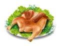 Chicken tobacco
