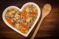 Chicken Wild Rice Soup Royalty Free Stock Photo