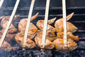 Chicken wing barbecue Royalty Free Stock Image