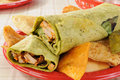 Chicken wraps Royalty Free Stock Photography
