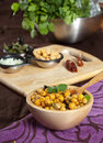 Chickpea appetizer Royalty Free Stock Image