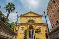Chiesa dei Cappuccini, church in San Remo, Italy Royalty Free Stock Photo