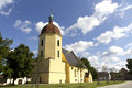 Chiesa in germania Immagine Stock