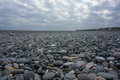 Chihsingtan beach the view of taiwan full of cobblestones Stock Images