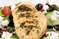 Chiken breast and salad Royalty Free Stock Photo