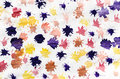 Child Abstract Painting Paint Splats Royalty Free Stock Photo
