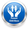 Child abuse harassment awareness badge prevent child abuse i have created Royalty Free Stock Photo