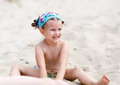 Child at the beach Royalty Free Stock Photo