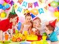 Child birthday party . Stock Image