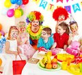 Child birthday party . Royalty Free Stock Photos