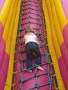 Child Climbing Royalty Free Stock Photo