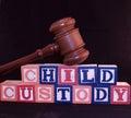 Child Custody Stock Photography