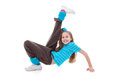 Child dance exercising Stock Photos