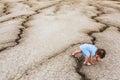 Child In A Desert Land