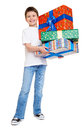 Child With Gift Box - Holiday ...