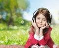 Child Girl Earphones Outdoor E...