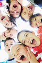 Child group Royalty Free Stock Photo