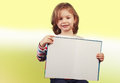 Child holding a open book Royalty Free Stock Photo