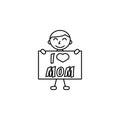 Child, I love mom