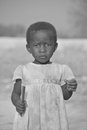 Child living in town of bangani namibie october unidentified on october namibia about per cent households are Stock Images