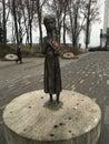 stock image of  Child monument in Kiev