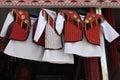 Child national wear. Turkmenistan. Ashkhabad market. Royalty Free Stock Photo