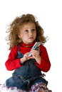 Child phone Stock Images