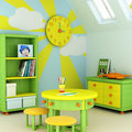 Child room Royalty Free Stock Photos