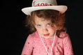Child's Cowboy Hat Royalty Free Stock Photos