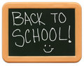 Child's Mini Chalkboard - Back to School Stock Image