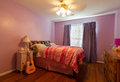 Child's Pink Bedroom Royalty Free Stock Photography