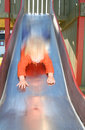 Child slide play Royalty Free Stock Image
