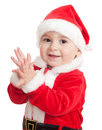 The Child In A Suit Of Santa C...