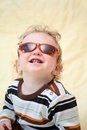 Child in the sunglasses Royalty Free Stock Photo
