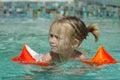 Plavání v bazén