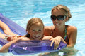 Child swimming pool Stock Photo