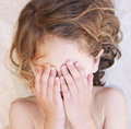 Child tantruming Royalty Free Stock Photo