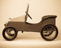 Child Vintage Pedal Car Royalty Free Stock Photos