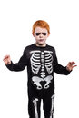 Child wearing halloween costume Royalty Free Stock Photo