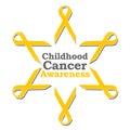 Childhood Cancer Awareness Ribbon Circle