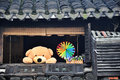 Childhood window zhejiang province china Royalty Free Stock Photo