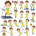 Childminder men_Sports & exercise