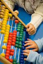 Children abacus Stock Image