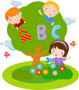 Children and ABC Stock Images