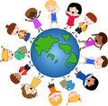 Children around the world Royalty Free Stock Photography