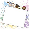 Children background Stock Images